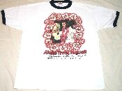 Remember Elvis' comeback with Aloha from Hawaii? Here's the t-shirt! From Vintage Basement - www.vintagebasement.com
