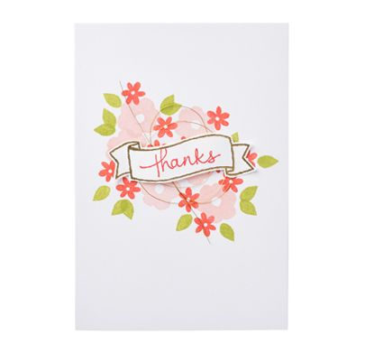Stampin' Up! Endless Thanks: