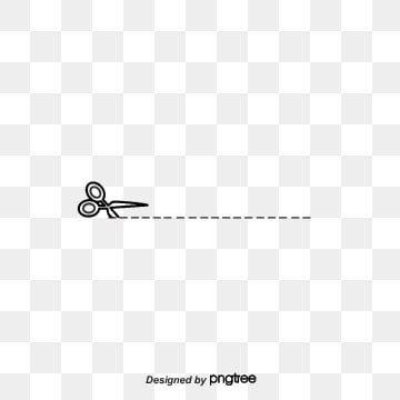 Cartoon Scissors Dotted Line Dividing Line Cartoon Scissors Dotted Line Png Transparent Clipart Image And Psd File For Free Download Dotted Line Banner Background Images Line Illustration