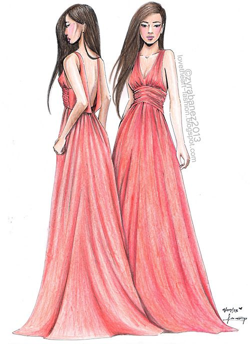 fashion drawing fashion drawings pinterest change 3