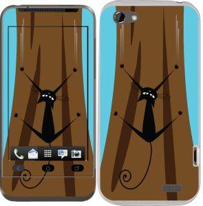 HTC One V için Ozi Sakar Kedi Kapak