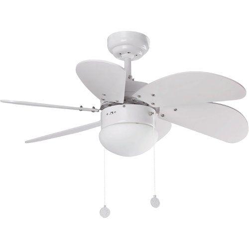 81cm Palao 6 Blade Ceiling Fan Symple Stuff Colour White