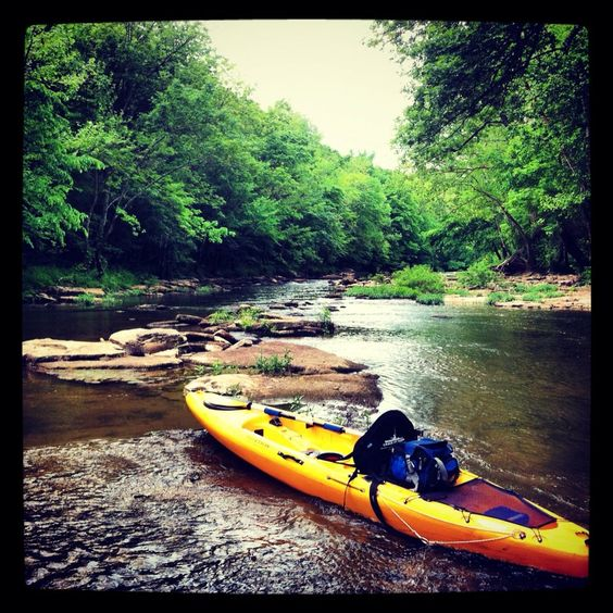 My Kayak on the Gasper River in Bowling Green, KY