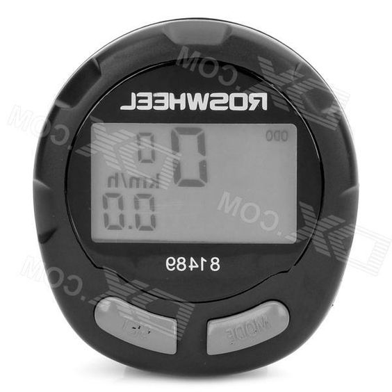 13-Function Waterproof Wired Bike Computer Odometer Speedometer - Black
