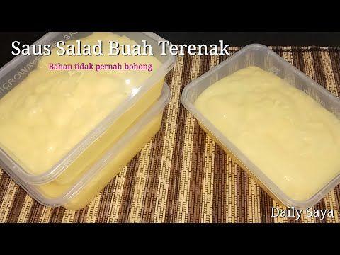 Saus Salad Buah Ala Hotel Bintang 5 Youtube Saus Salad Resep Salad Resep