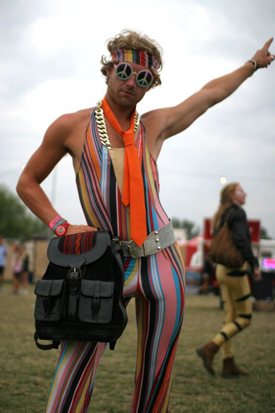 Beara Beara at the Secret Garden Party 2013!  How awesome does this guy look, modelling with our Mochata backpack?