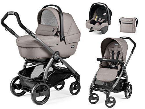 best price on peg perego trio travel system book 51 jet. Black Bedroom Furniture Sets. Home Design Ideas