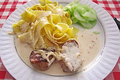 Schweinemedaillons mit Tagliatelle (Rezept mit Bild) | Chefkoch.de