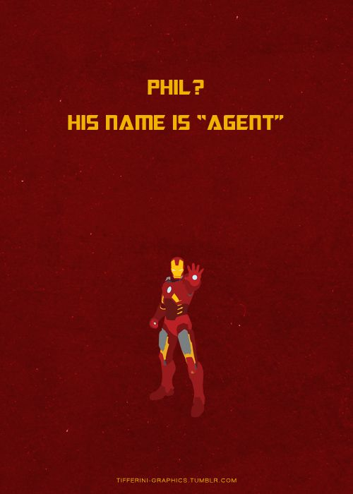 Phil??  His name is Agent  design from the spine