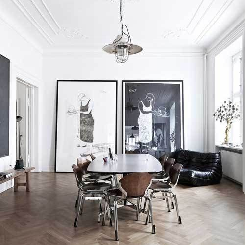 Get Inspired From The Block Industrial Art Deco Interiors