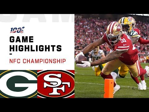 Packers Vs 49ers Nfc Championship Highlights Nfl 2019 Playoffs Youtube In 2020 49ers Vs Packers 49ers Nfc Championship Game