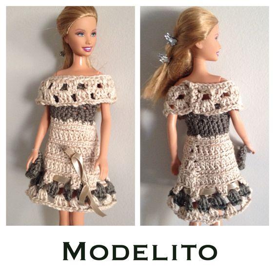 Vestidinho Croche Barbie
