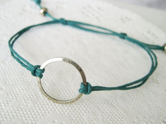 Karma Circle eternity infinity Unity Bracelet  by FancifulChaos