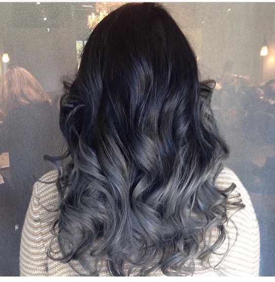 Grey ombre | Hair Colors/Cuts | Pinterest | Grey ombre