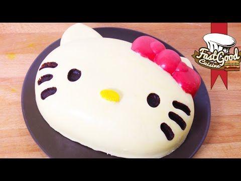 recette pour faire un bonbon hello kitty xxl - youtube