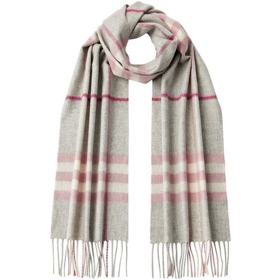 Burberry Shoes & Accessories Cashmere Giant Icon Check Scarf ($355) ❤ liked on Polyvore featuring accessories, scarves, men, rose, burberry scarves, burberry shawl, cashmere shawl, cashmere scarves and burberry