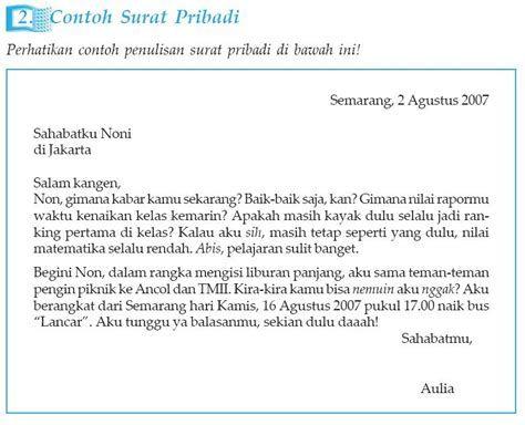 Contoh Surat Pribadi Kepada Orang Tua Dalam Bahasa Sunda Contoh