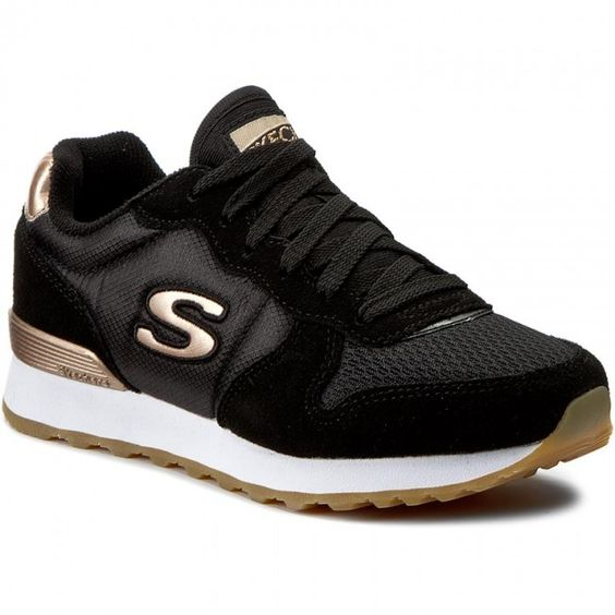 Sneakersy Skechers Goldn Gurl 111 Blk Black Skechers Gurl Black