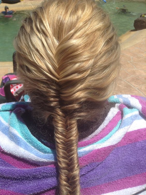 braided fistail