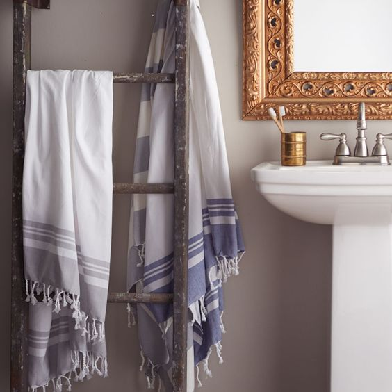 Mediterranean-inspired bathroom