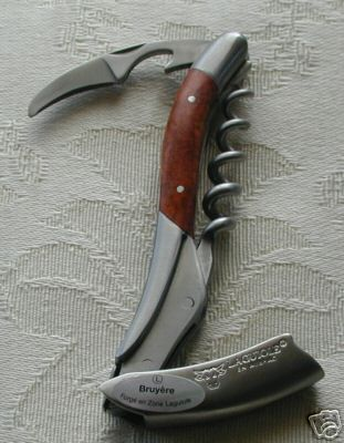 Laguiole En Aubrac Briar Root Wood Handle Corkscrew -> 169$ ... Why???