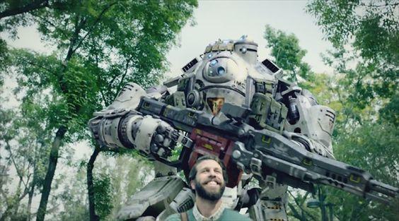 Titãs invade a vida real no novo comercial de Titanfall