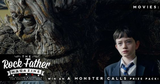 A Monster Calls: Win A Signed Novel, Soundtrack and more! via @therockfather