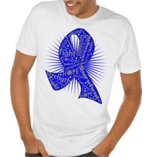 Sport your awareness ribbon with Colon Cancer Powerful Ribbon Slogans shirts, apparel and gifts featuring inspiring cancer sayings such as Hope, Fight, Strength and Perseverance for the fighter, survivor and advocate with the designated awareness ribbon color for the cause brought to you by GiftsForAwareness.Com