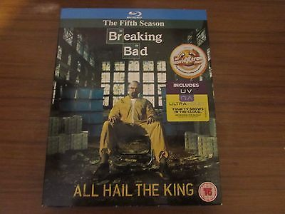 #Breaking bad #series 5 blu ray - no uv code,  View more on the LINK: 	http://www.zeppy.io/product/gb/2/182255536514/