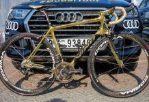 La flamante bicicleta de Vinokourov en el Tour de Dubai