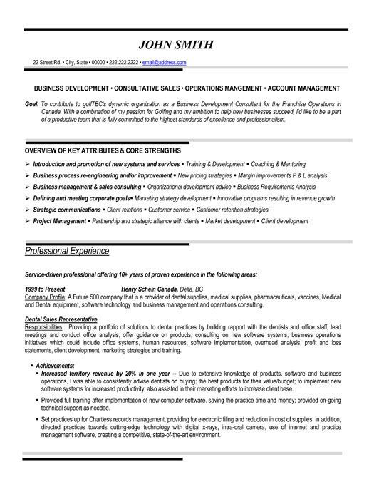 Resume Templates And Resume Examples Sales Resume Sample Resume