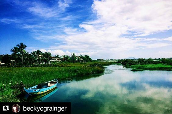 #Repost @beckycgrainger with @repostapp  Follow back for travel inspiration and tag your post with #talestreet to get featured.  Join our community of travelers and share your travel experiences with fellow travelers attalestreet.com  This time last week we were exploring the beautiful countryside of sunny Hoi An.  #travel #traveling #travelgram #instatravel #instagood #instalike #instalove #explore #adventure #clouds #wanderlust #vsco #vscocam #vietnam #sun #holiday #landscape #nature…