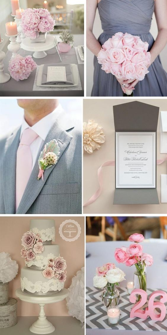 Pink and gray wedding - Matrimonio Rosa e Grigio
