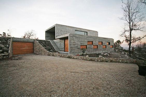'casa da ladeira' by oficina d'arquitectura, serra da freita, portugal.