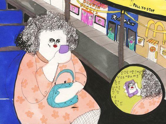 La artista que retrata los momentos más incómodos del día a día | The Creators Project