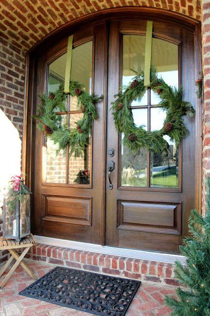 Easy Diy Christmas Wreath From Garland Craft Corner