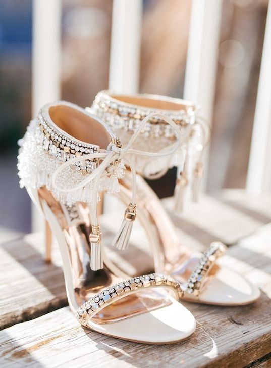 99 Fantastic Wedding Shoes Ideas For Brides To Look Elegant Gold Wedding Shoes Gold Heels Wedding Bride Shoes