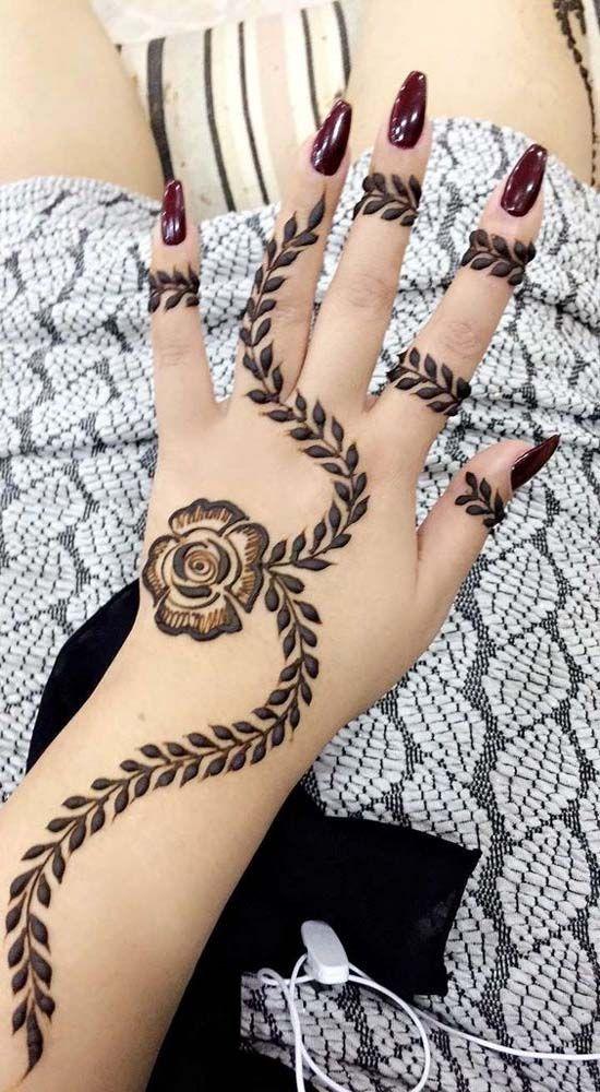 Simple Mehndi Design For 2019 Mehndi Designs For Hands