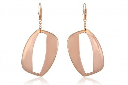 Reflections by Simone I. Smith 18Kt. Rose Gold Over Sterling Silver