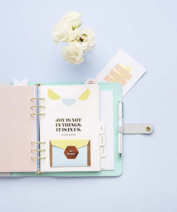 How to organise your kikki.K Wellness Planner: