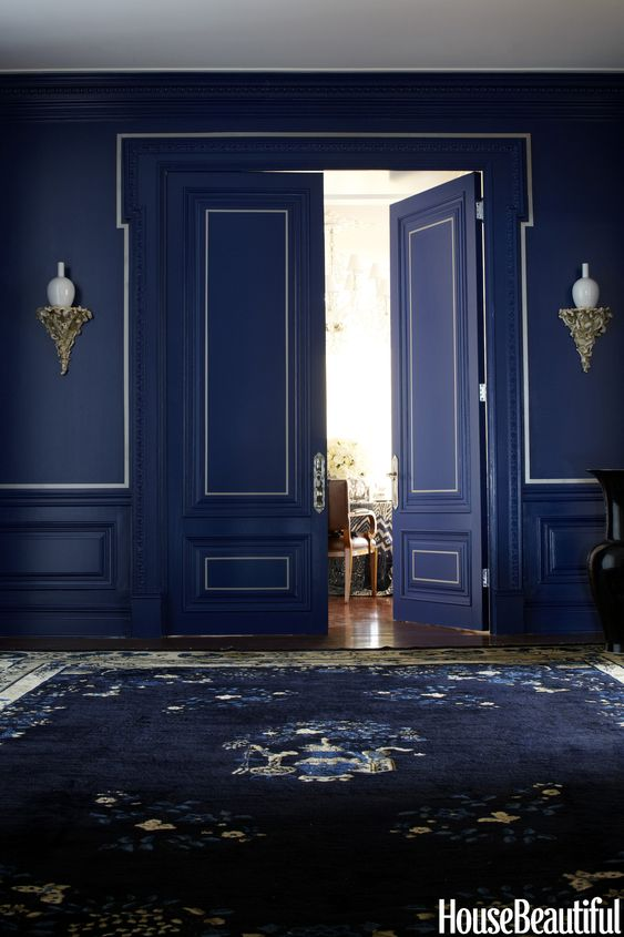 One classic color 3 genius ways to decorate ralph for Ralph lauren interior paint