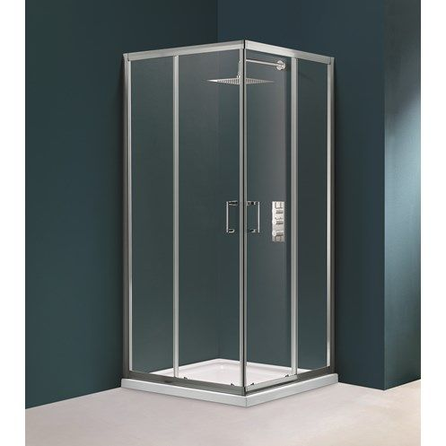 Flair Hydro Express Fit Corner Entry Shower Enclosure Shower Enclosure Shower Doors Shower