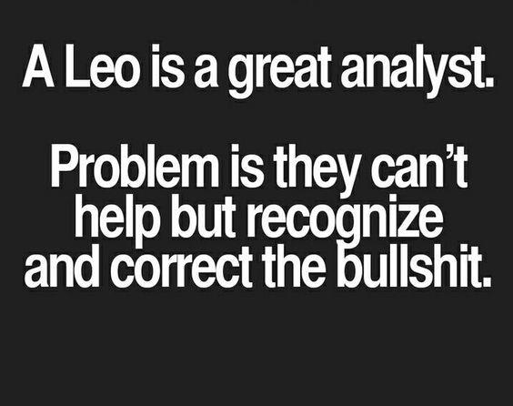 Leo=Great Analyst