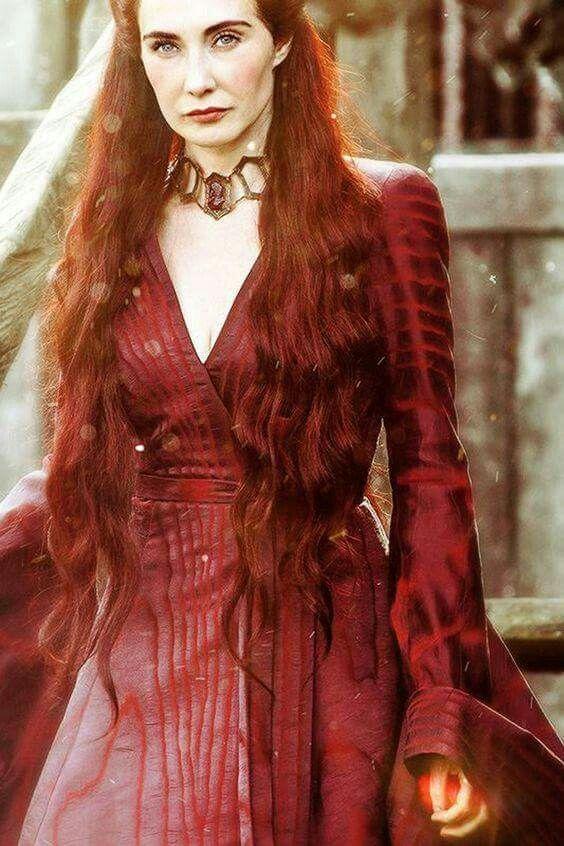 Carice Van Houten As The Red Woman Melisandre From Game Of Thrones Game Of Thrones Dress Game Of Thrones Costumes Melisandre Costume