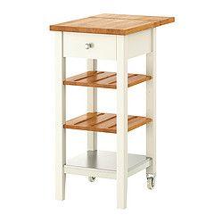 stenstorp desserte blanc ch ne chariots de caf panier d 39 lot de cuisine et nouvelle cuisine. Black Bedroom Furniture Sets. Home Design Ideas