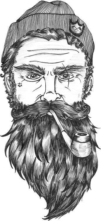#dibujo #boceto #barba: