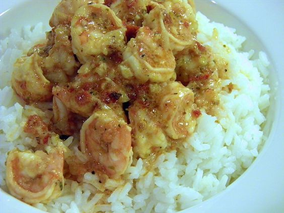 Sauteed Shrimp with Chipotle Chiles by MangoesandChutney, via Flickr