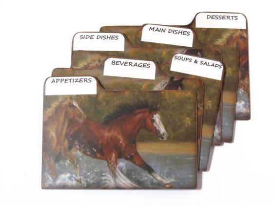 western recipe cards