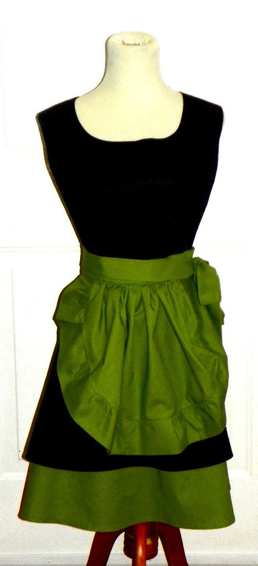 French Maid styled apron