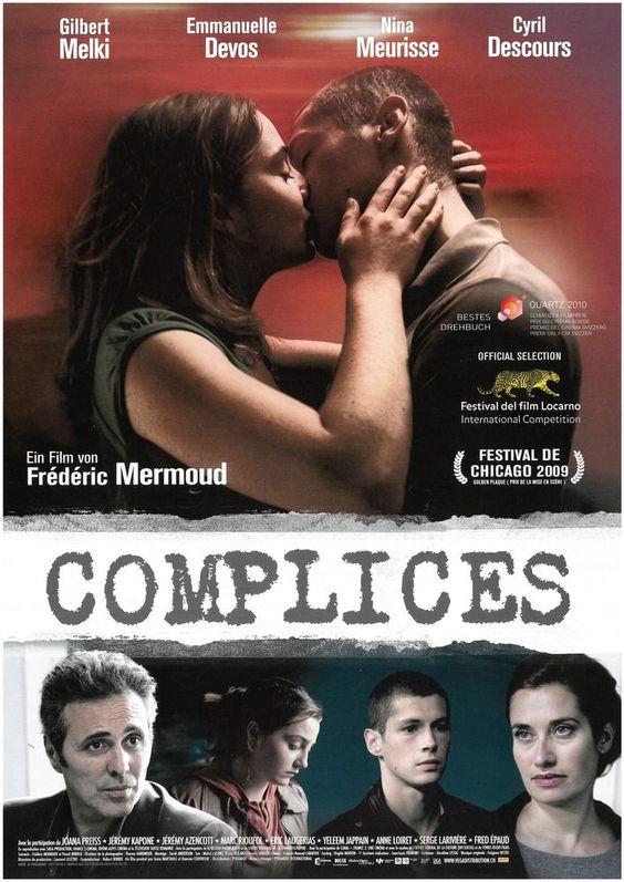 COMPLICES - KRIMI - 2009 - GILBERT MELKI - EMANUELLE DEVOS - FILMPOSTER A4